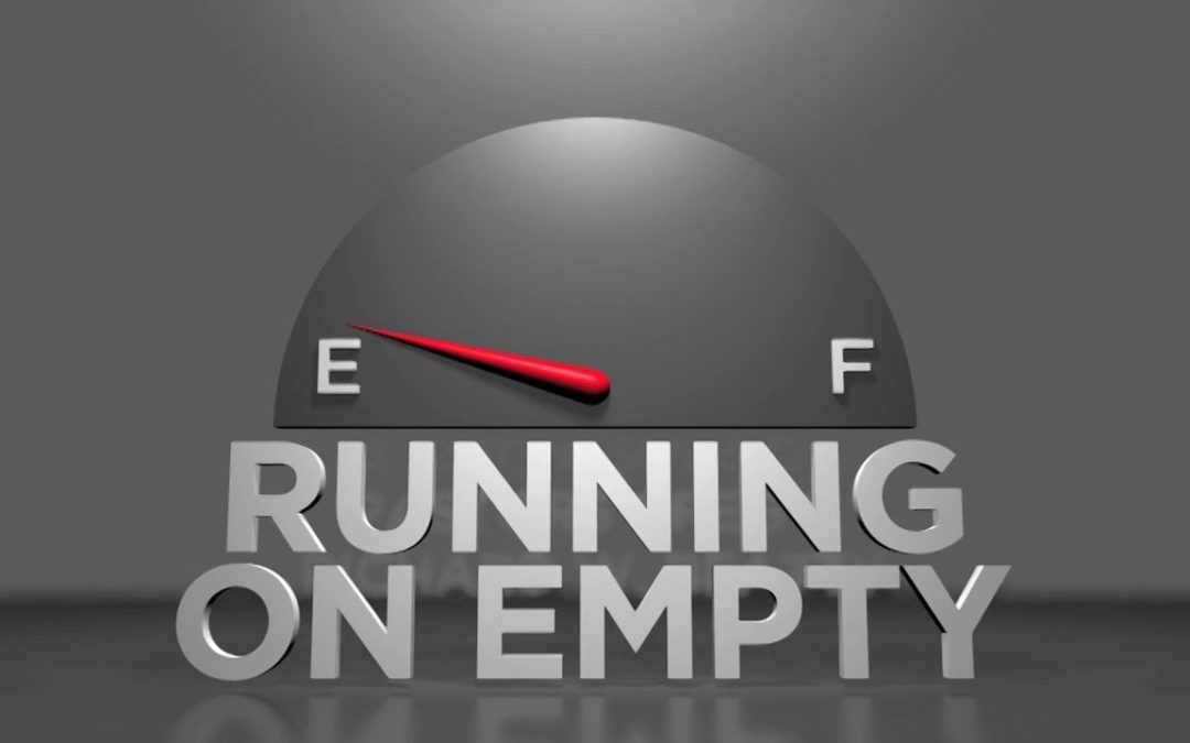 Running on Empty? LIGHTEN THE LOAD – Sermon Preview for August 6